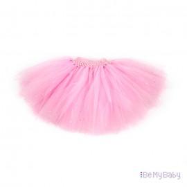 Spódnica Tiulowa PomPon różowa