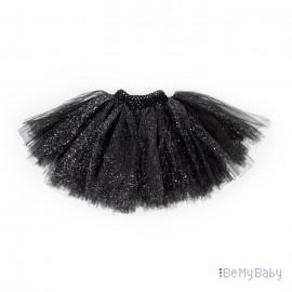 Spódnica Tiulowa PomPon czarna
