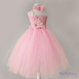 Sukienka róż strój
