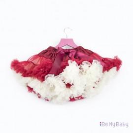 PettiSkirt czerwona