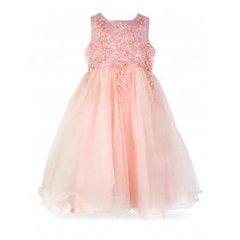 Tiulowa koronkowa sukienka