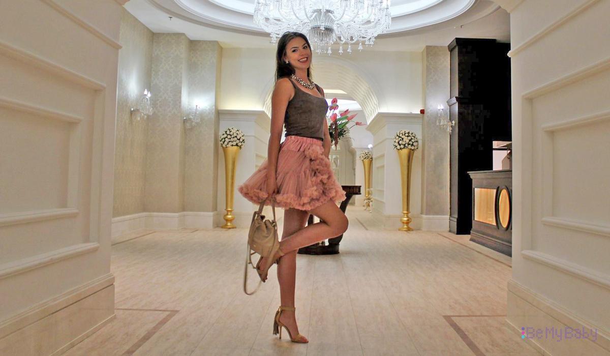 Kinga Zabielska Finalistka Miss Polonia 2016 w spódnicy PettiSkirt BeMyBaby