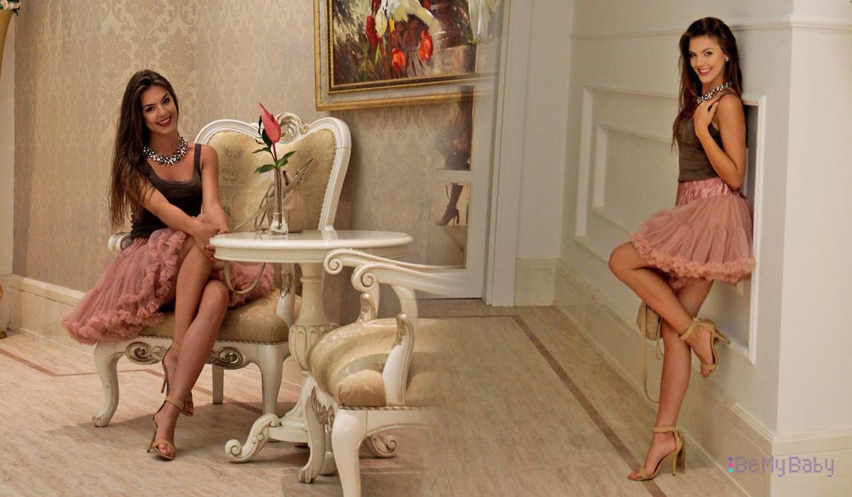 Kinga Zabielska Finalistka Miss Polonia 2016 w spódnicy tiulowej BeMyBaby